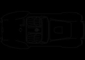 交通工具汽车cad图块