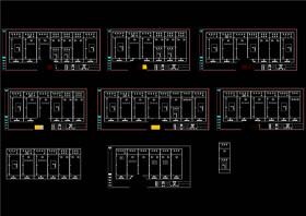 低壓開關柜電氣圖CAD機械圖紙