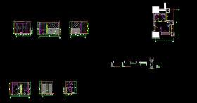 卫生间设计CAD图纸下载