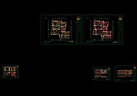 家裝工裝CAD施工圖