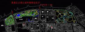 上海古城公园全套CAD施工图