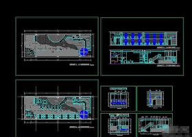 酒吧CAD设计
