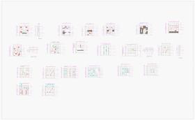 书柜CAD设计图