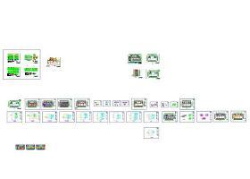 数据中心机房CAD图纸