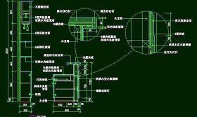 CAD之吧台收银台服务台设计