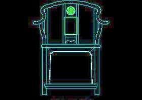 中式家具图块-cad家具图块12