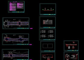 路灯电气CAD施工图