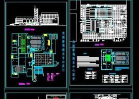 大型劇場cad全套施工設計方案圖紙