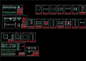 10T電動單梁起重機套圖CAD機械圖紙