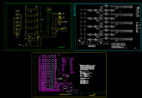 消防系统图CAD图纸