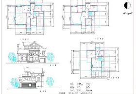歐式房屋CAD圖紙
