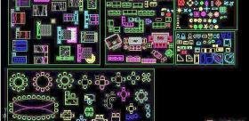 室内CAD家具图库