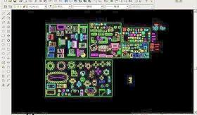室内CAD家具图库(平面)