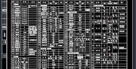 CAD建筑给排水图例