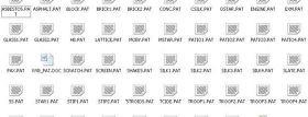 40多种CAD全新的填充图案