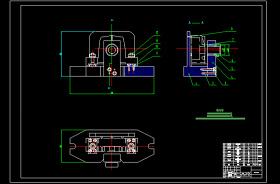 机油泵体夹具CAD图纸