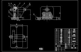831005铣床夹具装配图CAD图纸
