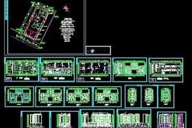 商住楼建筑cad设计图图片