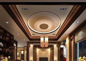 中国风别墅全套CAD施工图带效果图