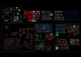CAD室内图库