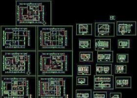 别墅建筑CAD施工图