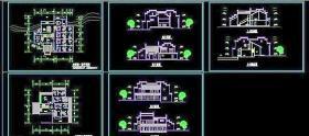 别墅建筑CAD图