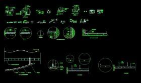 CAD建筑常用装饰天花施工图