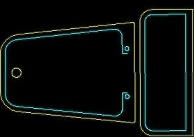 卫生间洁具用品图块cad家具图块素材20080917更新29