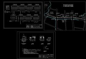 10kV电缆配电线路工程设计CAD图纸