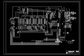 数控铣床硬件电路图CAD图纸