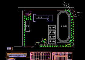 中学CAD建筑图