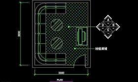 KTV包厢CAD设计素材