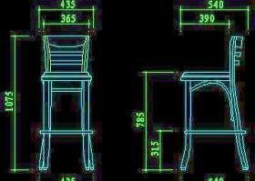 椅子图块-cad家具图块32款32