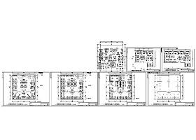 沙发展厅CAD图纸