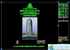 某超高层大厦施工图纸CAD设计图下载