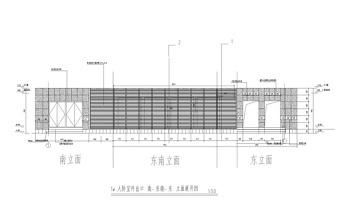 XS1-3水幕墙详图cad图纸