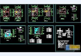 超级实用的全套三层建筑CAD设计图纸