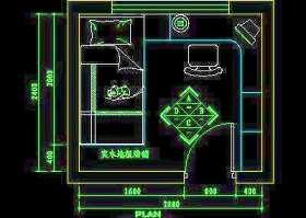 儿童房CAD实例详图素材15