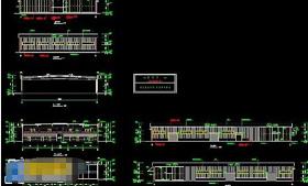 全套汽车展厅cad建筑施工工程图纸