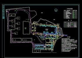 某屠宰加工厂建筑设计cad施工图