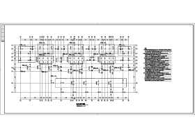 某地十六層框剪結構住宅樓結構施工圖