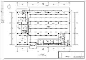 ?#36710;?#21306;5层汽车4S店电气设计施工图