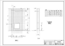 某水利工程新建泵站結構布置及鋼筋圖