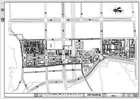某城市水利工程景观拱桥结构布置图