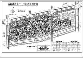 上海别墅区规划总图