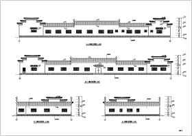 观光农业园餐厅扩展工程建筑施工图