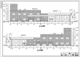 某地二层汽车4S店建筑设计方案图