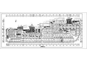 某地大型商场首层建筑设计施工图