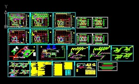 饭店综合楼中央空调设计图