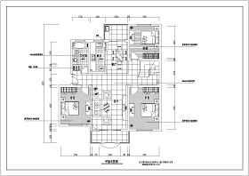 某三室两厅全套装修设计施工图